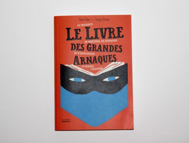 Le Livre Des Grandes Arnaques Couverture