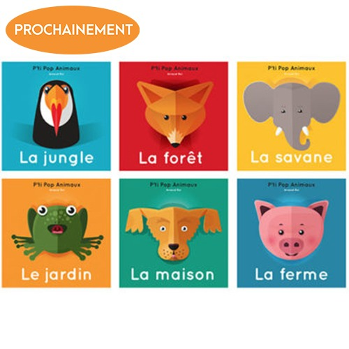 Collection P'ti Pop Animaux
