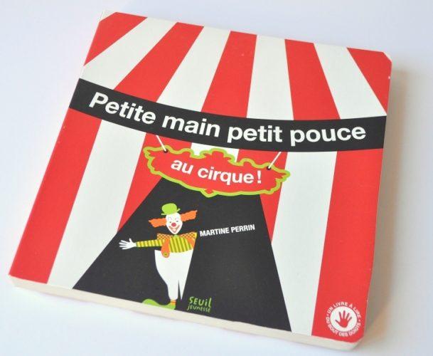 Petite Main Petit Pouce Au Cirque Couverture