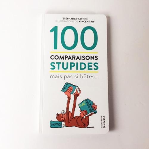 Couverture De Présentation En Portfolio Du Documentaire 100 Comparaisons Stupides Mais Pas Si Bêtes