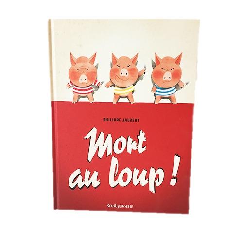 Couverture De Présentation En Portfolio De L'album Mort Au Loup !