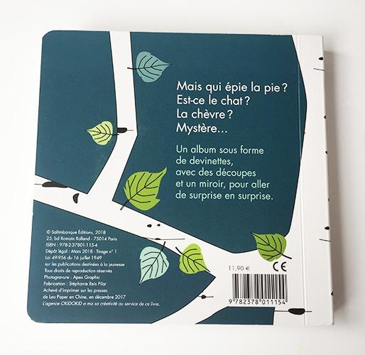 Contenu De L'album Mais Qui épie La Pie ? Pour Portfolio