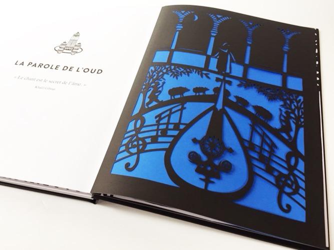 Contenu De L'album Contes D'Orient Pour Portfolio