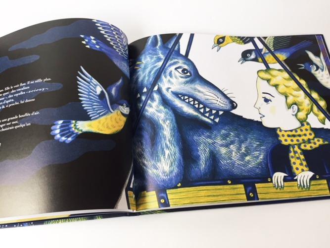 Contenu De L'album Conversation Avec Le Loup Pour Portfolio