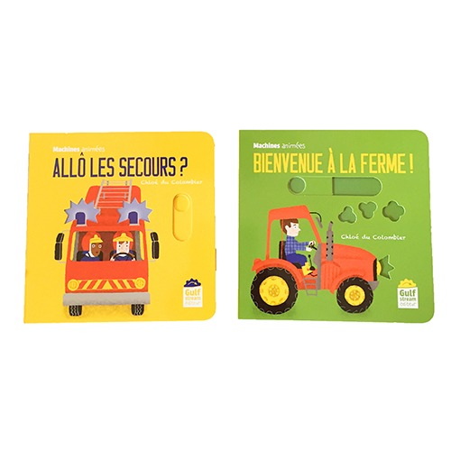 Couverture De Présentation En Portfolio De La Collection Machines Animées