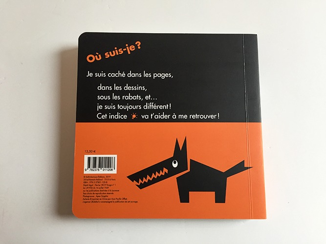 Contenu Du Livre-jeu Où Est Le Loup ? Pour Portfolio