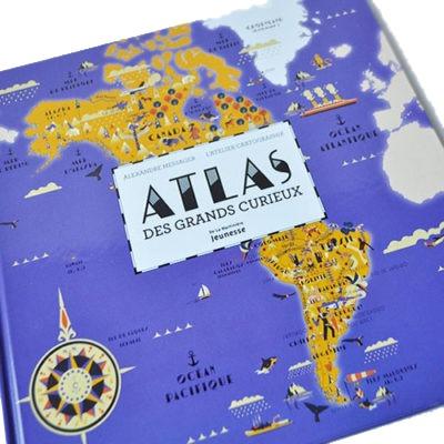 Couverture De Présentation En Portfolio Du Documentaire Atlas Des Grands Curieux
