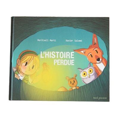 Couverture De Présentation En Portfolio De L'album L'histoire Perdue