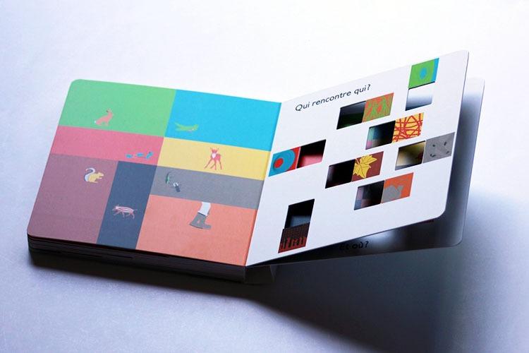 Contenu De L'album Dans Les Bois Pour Portfolio