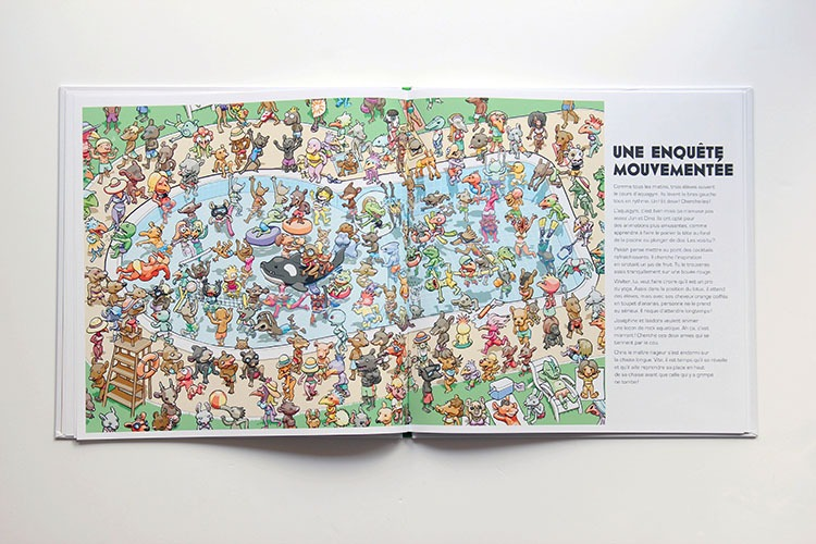 Contenu Du Livre-jeu Enquêtomania Pour Portfolio