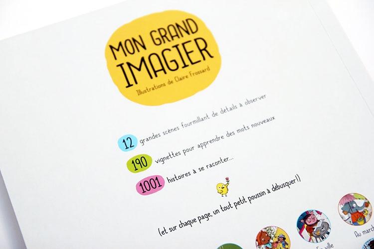 Contenu De L'album Mon Grand Imagier Pour Portfolio