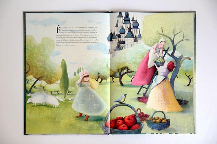 Contenu De L'album La Princesse De L'aube Pour Portfolio
