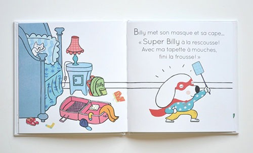 Contenu De La Collection Super Billy Pour Portfolio