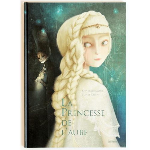 Couverture De Présentation En Portfolio De L'album La Princesse De L'aube