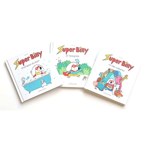 Couvertures De Présentation En Portfolio Des Albums Super Billy