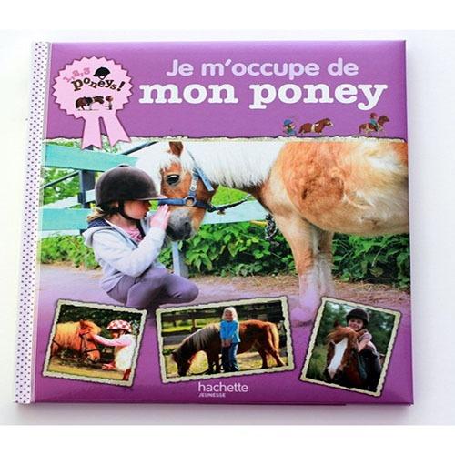 Couverture De Présentation En Portfolio Du Documentaire Je M'occupe De Mon Poney