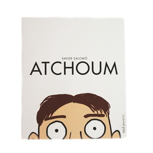 Couverture De Présentation De L'album Atchoum Pour Portfolio