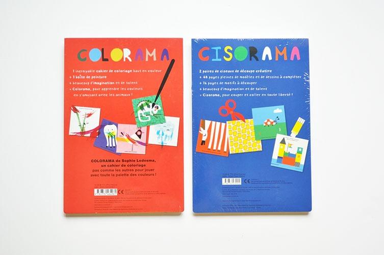 Contenu Des Livres-jeux Cisorama Colorama Pour Portfolio