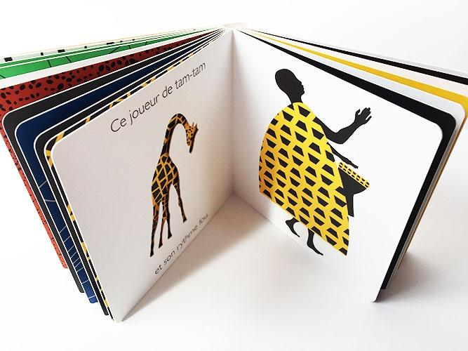 Contenu de l'album Méli-Mélo en Afrique pour portfolio