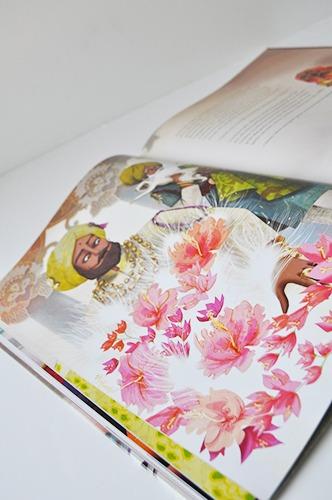 Contenu De L'album La Princesse à La Plume Blanche Pour Portfolio