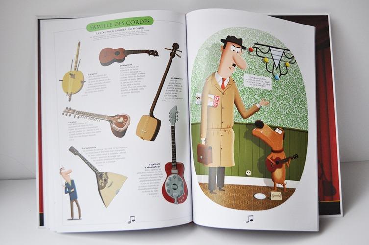Contenu Du Documentaire Le Grand Livre Des Instruments De Musique Pour Portfolio