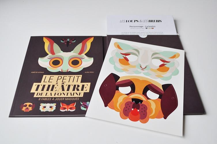 Contenu Du Livre-jeu Le Petit Théâtre De La Fontaine Pour Portfolio