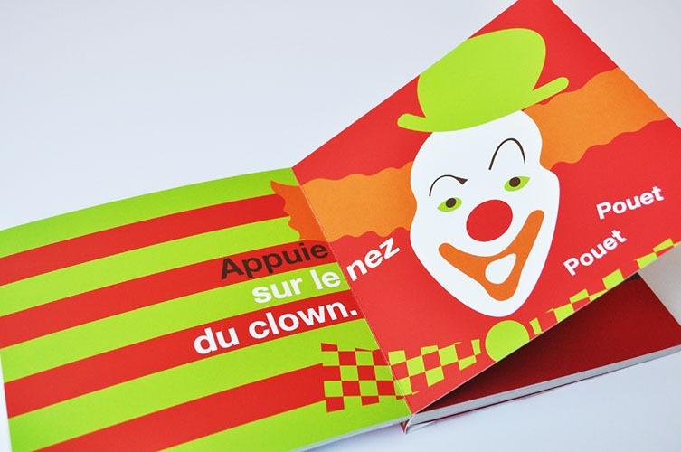 Contenu De L'album Petite Main Petit Pouce Au Cirque Pour Portfolio