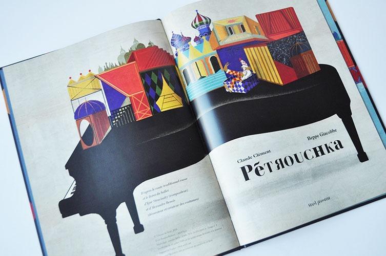 Contenu De L'album Pétrouchka Pour Portfolio
