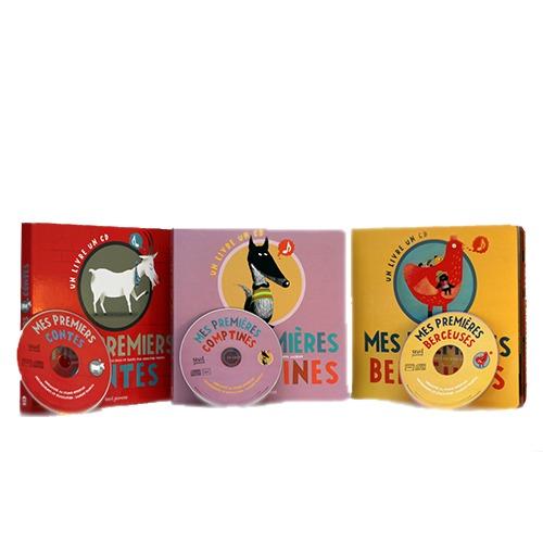 Collection Livre-CD Mes Premiers Contes
