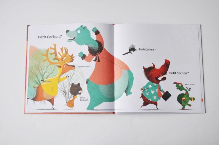 Contenu De L'album Un Secret De Petit Cochon Pour Portfolio