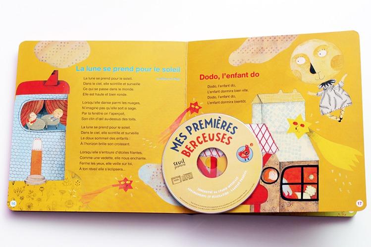 Contenu De L'album Mes Premières Berceuses Pour Portfolio