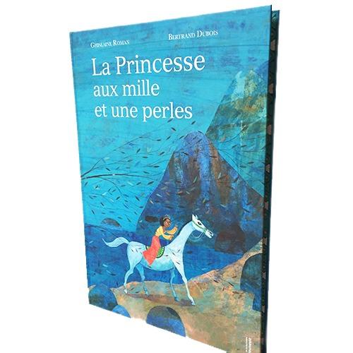 Couverture De Présentation En Portfolio De L'album La Princesse Aux Mille Et Une Perles