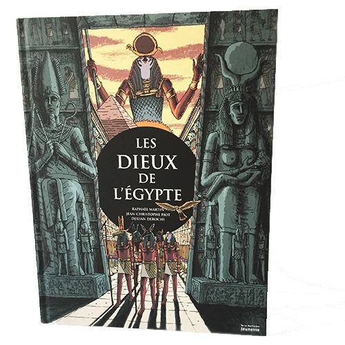 Couverture De Présentation En Portfolio Du Documentaire Les Dieux De L'Égypte