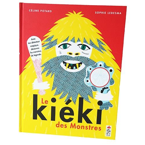 Couverture De Présentation En Portfolio Du Livre-jeu Le Kiéki Des Monstres