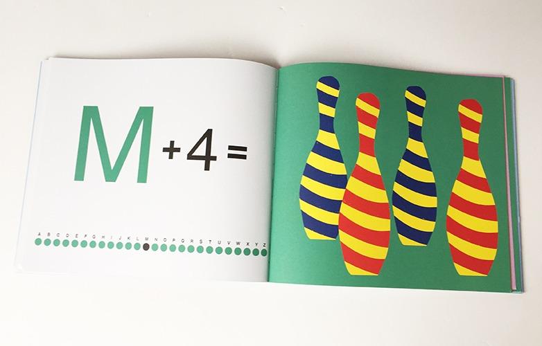 Contenu Du Livre-jeu A + 1 = Un Alphabet à Compter Pour Portfolio