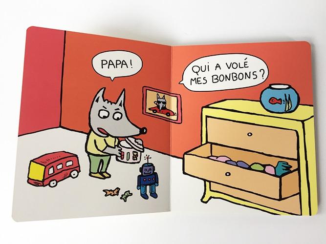 Contenu De L'album Vilain Monstre Pour Portfolio