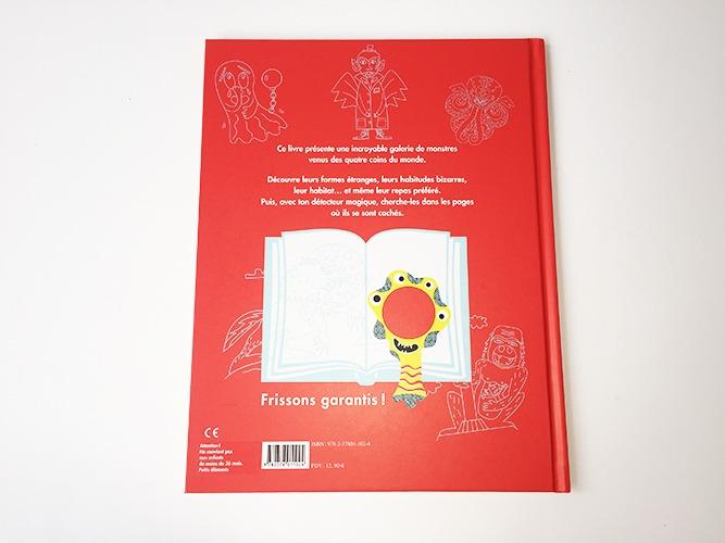 Contenu Du Livre-jeu Le Kiéki Des Monstres Pour Portfolio