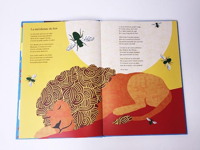 Contenu De L'album Le Zoo Poétique Pour Portfolio