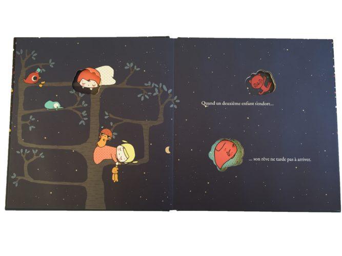 Contenu De L'album Quand Un Enfant S'endort Pour Portfolio