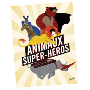 Couverture De Présentation En Portfolio Du Documentaire Animaux Super-Héros